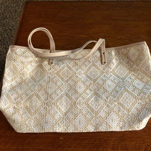 Avon bag. Cream color